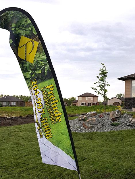 prelude flag winnipeg landscape company