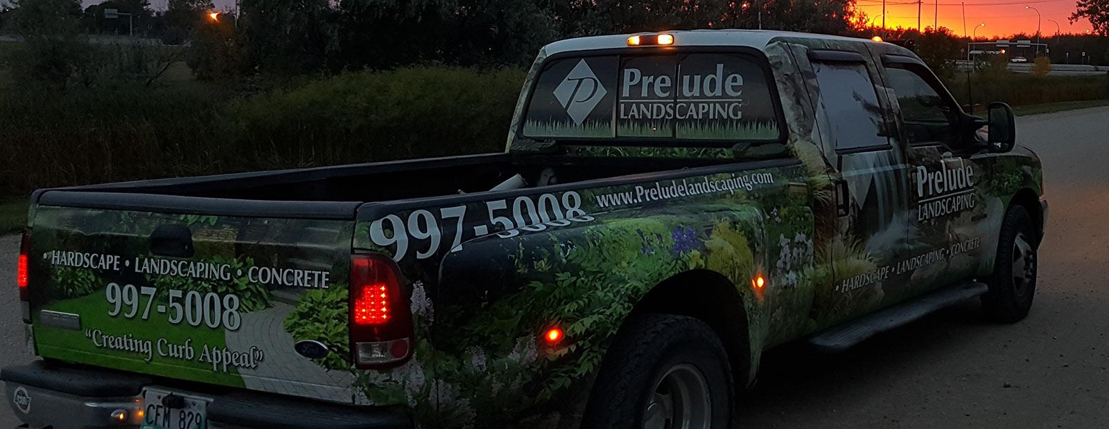 Winnipeg landscaping company