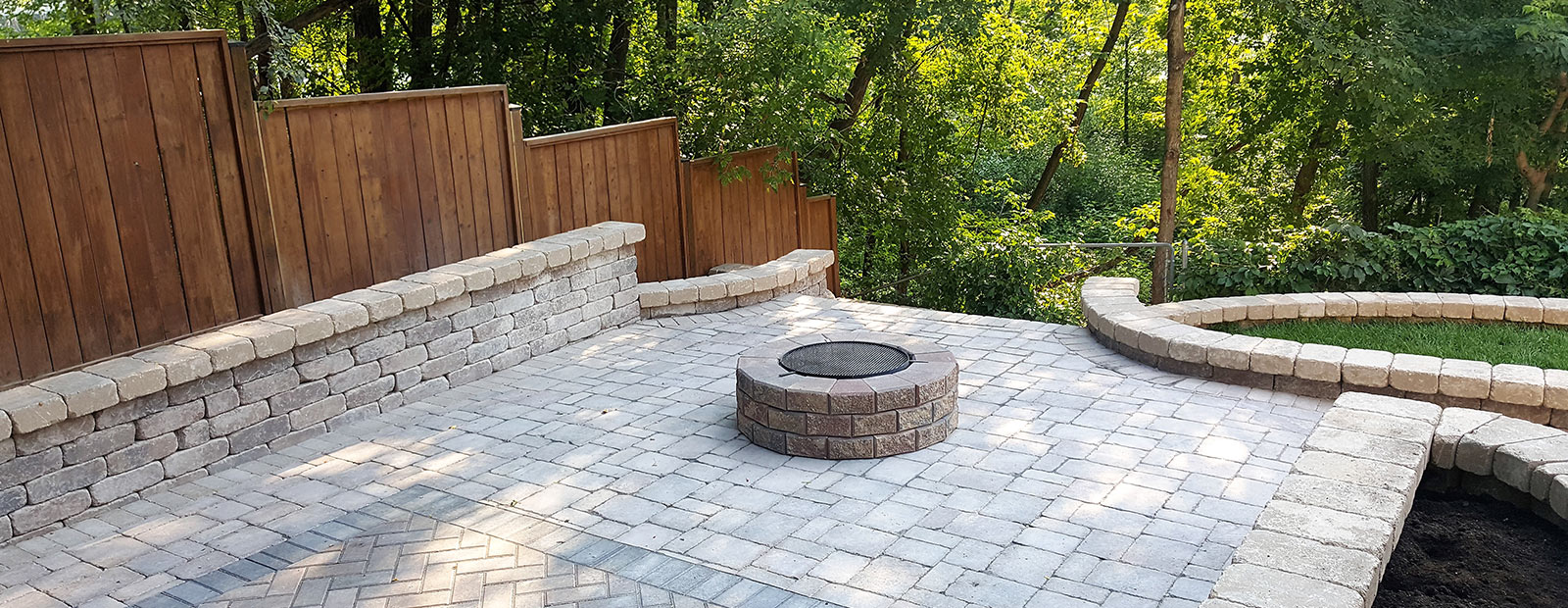 Fireplace - Winnipeg landscaping and hardscaping